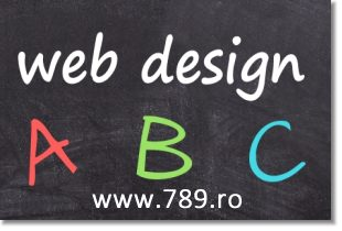 web design abc invata wordpress