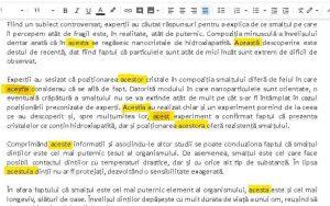 copywriter eroare