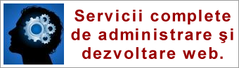 webadmin administrare site servicii SEO