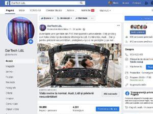 portofoliu de postări pe facebook