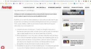 promovare site in revista online