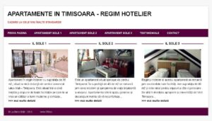 SEO Timisoara apartamente regim hotelier
