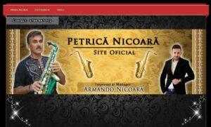 servicii de SEO si web design pentru Petrica Nicoara