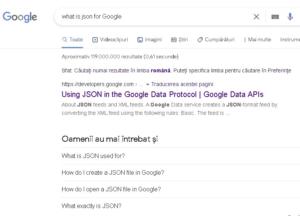 JSON si promovarea site-urilor