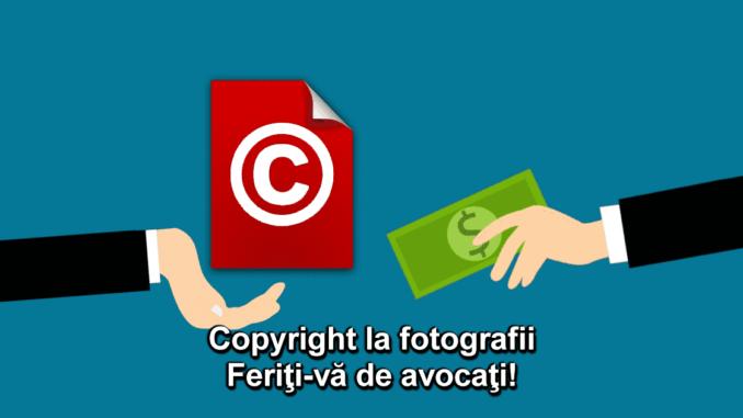 copyright pentru fotografii